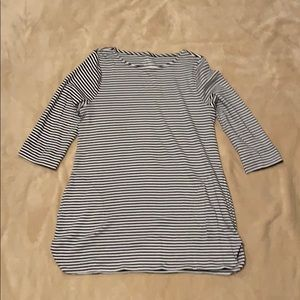 Striped Tunic with Pockets
